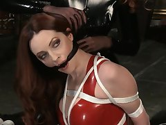 Two Kinky Babes Surrounding A Bondage Fun Video - emily marilyn