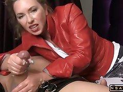 Frigidity Maestra handjob blowjob fucking in autocratic hardcore porn video