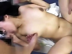 Pov anal threesome added to blowjob
