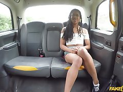 Large compilation of ebony babes having sex in a taxi or clubbable