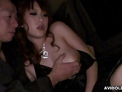 Asian coquette Yui Takashiro gives her head and gets her pussy creampied