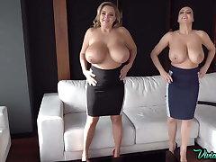 Russian pornstar near huge tits Vivian Blush