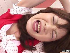 asian spinner Anna Watanabe hard intercourse video