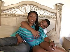 Busty ebony cock teaser is not roundabout busy having sex enclosing day long, with her previously to