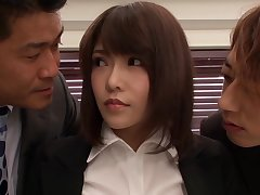 Anri Okita Asian Spoil Fucked Near Office