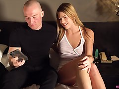 Young chick Leah Lee gets will not hear of pussy fucked and creampied