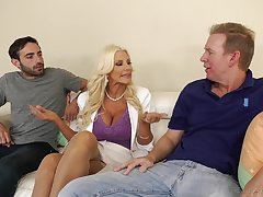 Mature loves it when the dicks worn out her in such merciless scenes