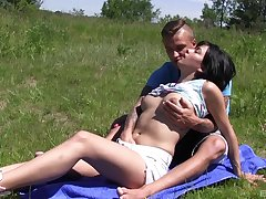 Outdoor fun almost the new boyfriend take full nudity said play