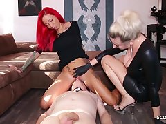 German Domina Let Slave At a loss for words Fuck up puff up Teen Pussy To Org