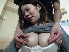 Japanese babe Miyu Ninomiya knows how down suck a dick properly