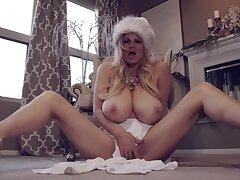 Huge Boob Milf Holiday Show - Milf