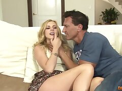 Hot blooded guy Marco drills pussy and brashness inviting teen pretty good Lexi Belle