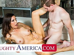 Naughty America - Shay Sights gives Anthony more than a tip!