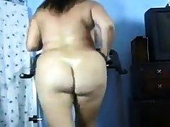 Mature BBW alone superior to before webcam