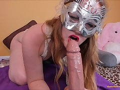 Hot Masked Babe - Astonishing Webcam Video Trick Or Treat