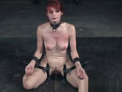 Redhead submissive humiliated in bdsm turn
